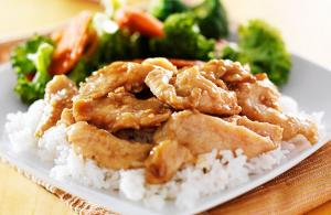 中图 Teriyaki Chicken